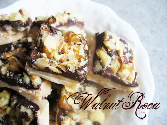 Walnut Roca | RaiasRecipes.com