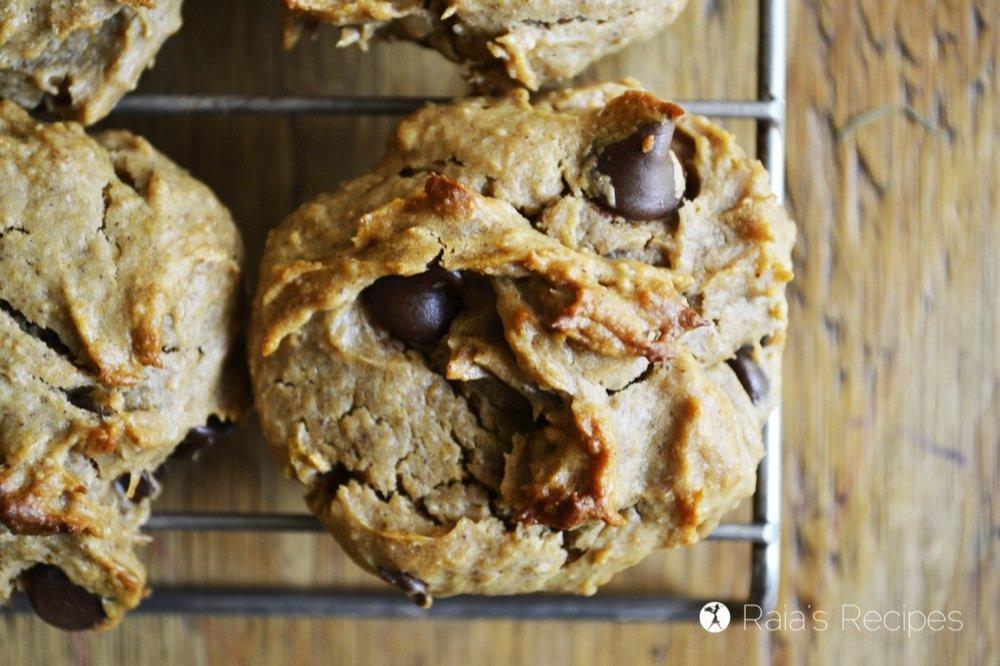 peanut butter banana cookies 1