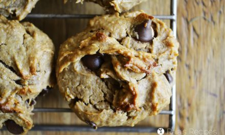 Chocolate Chip Peanut Butter Banana Cookies