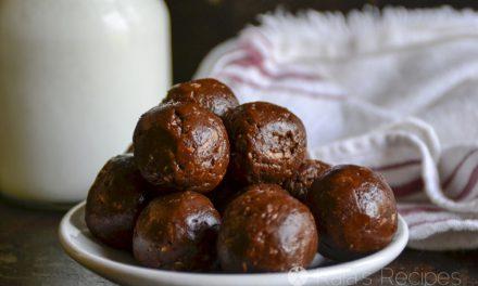 Raw Chocolate Peanut Butter Coconut Balls