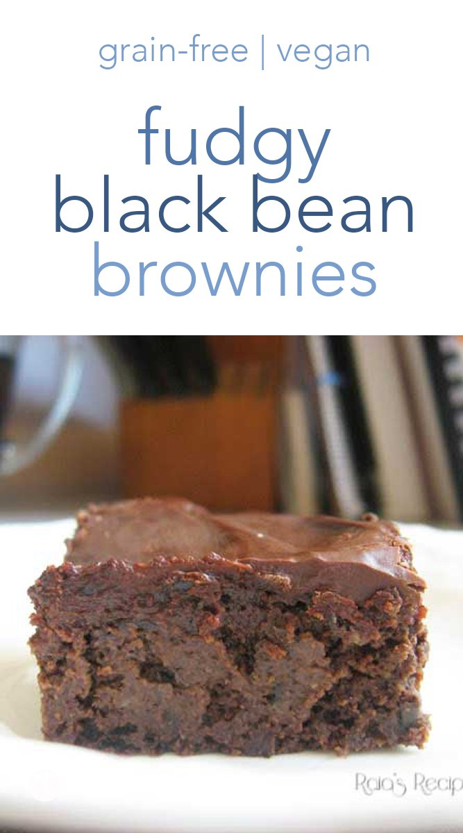 Perfectly fudgy and with a sneaky ingredient, these fudgy black bean brownies are a hit every time I make them! #grainfree #realfood #vegan #dairyfree #eggfree #glutenfree #blackbean #brownies #chocolate #dessert