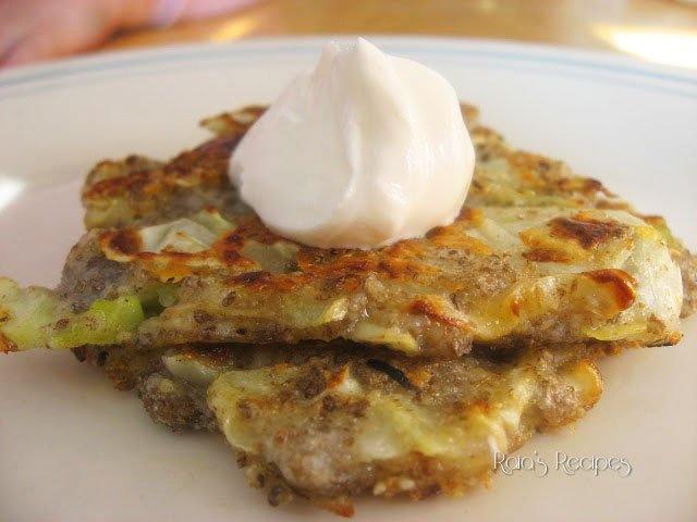 Cabbage & Cheddar Okonomiyaki