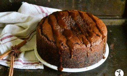 Honey Gingerbread Cake