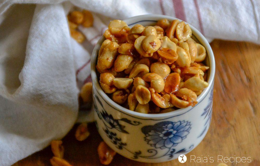 Real Food Homemade Honey Roasted Peanuts