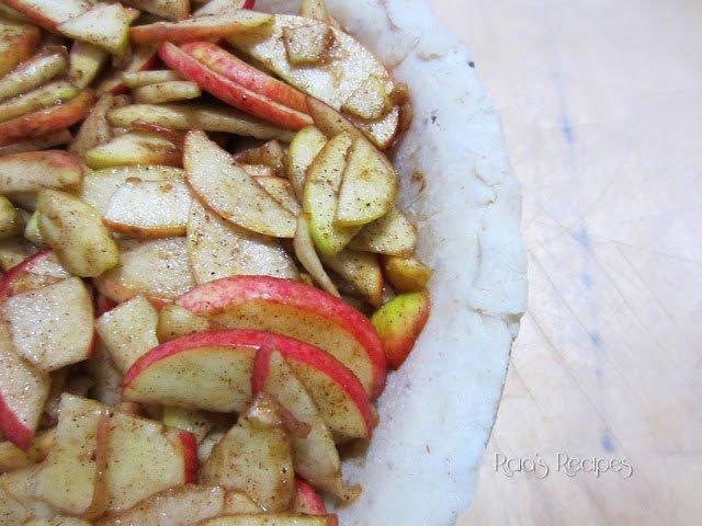 Honey Apple Pie