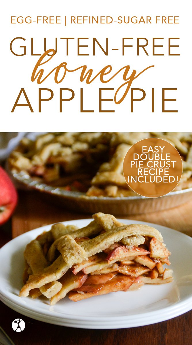 Gluten-Free Honey Apple Pie #glutenfree #dairyfree #eggfree #refinedsugarfree #realfood #honey #apples #pie #applepie #glutenfreedessert #glutenfreepie #piecrust #piepastry
