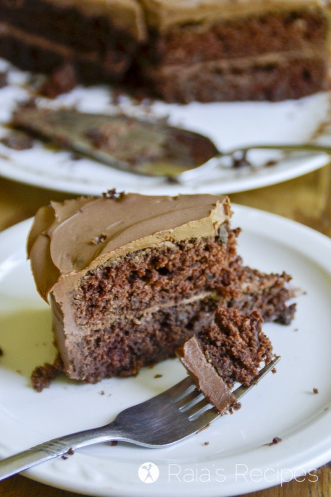 his gluten-free, vegan Chocolate Applesauce Cake is a delicious, easy, allergy-friendly dessert… or breakfast.