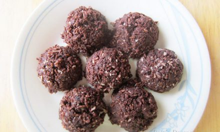 Chocolate Coconut No-Bake Cookies