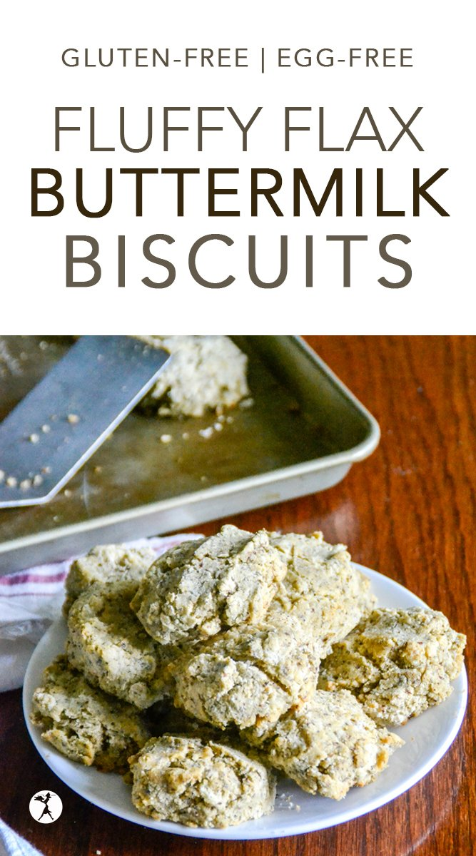 These Fluffy Flax & Buttermilk Biscuits are a super easy and tasty accompaniment to any soup! They're gluten and egg-free, and a hit whenever they grace the dinner table. #biscuits #glutenfree #flax #buttermilk # eggfree #dairyfreeoption #sugarfree #realfood