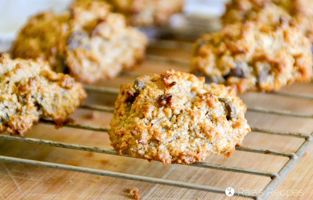 Chewy Peanut Butter Coconut Cookies