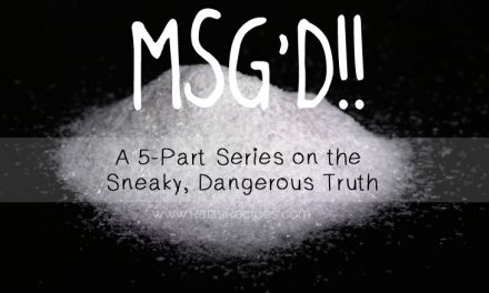 MSG'D!! Part 5: What Do I Eat Now?