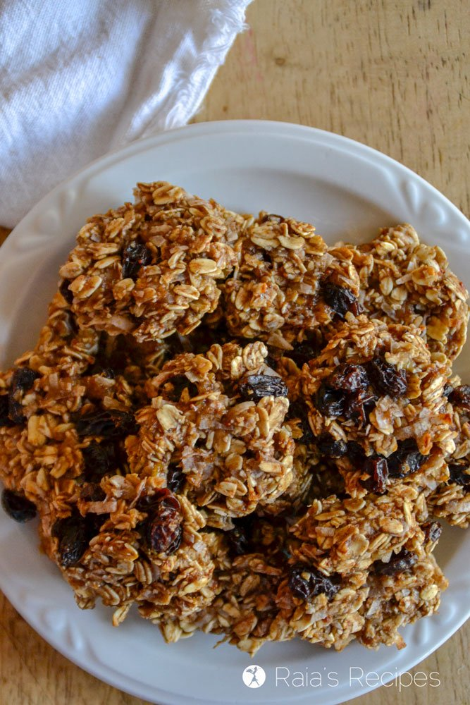 Chewy Fruity Oatmeal Breakfast Cookies 2