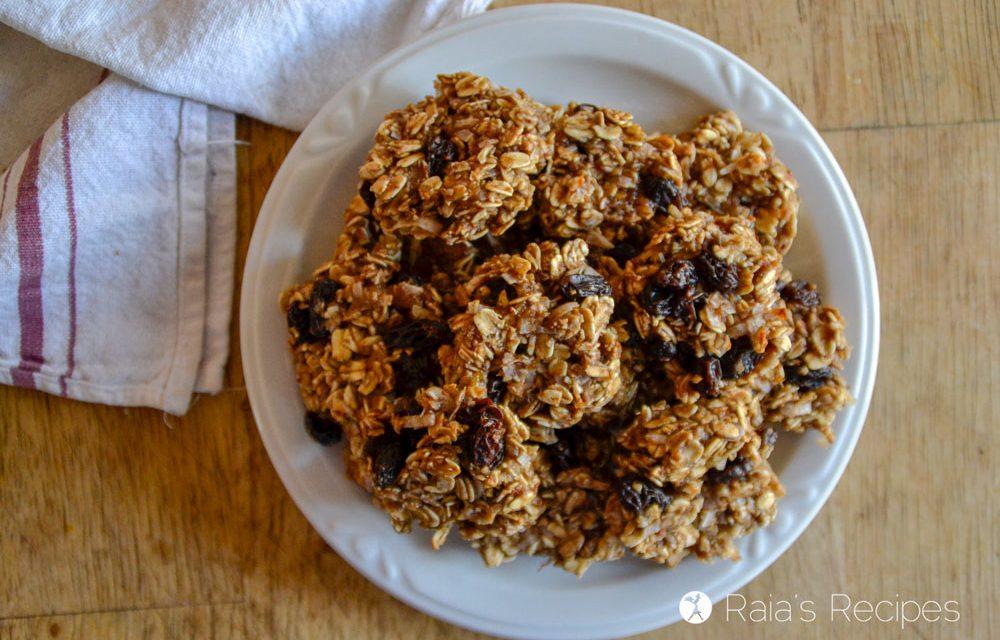 Chewy Fruity Oatmeal Breakfast Cookies
