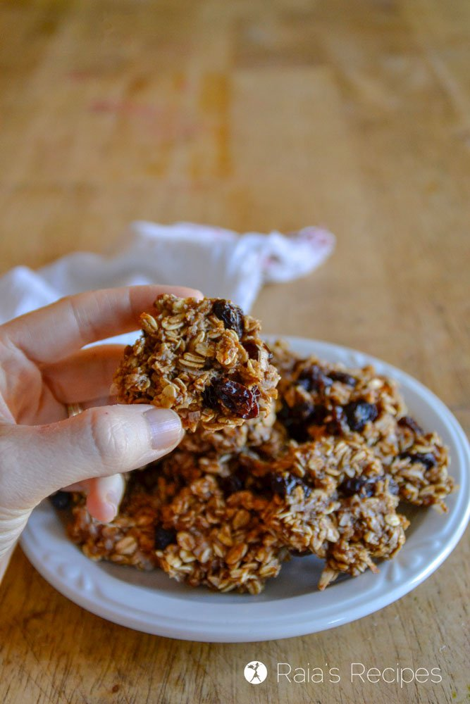 Chewy Fruity Oatmeal Breakfast Cookies 3