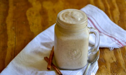 Cinnamon Nut Butter Smoothie