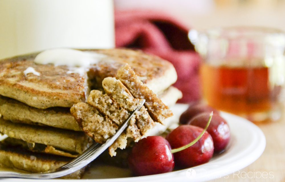 Easy Yogurt & Applesauce Pancakes