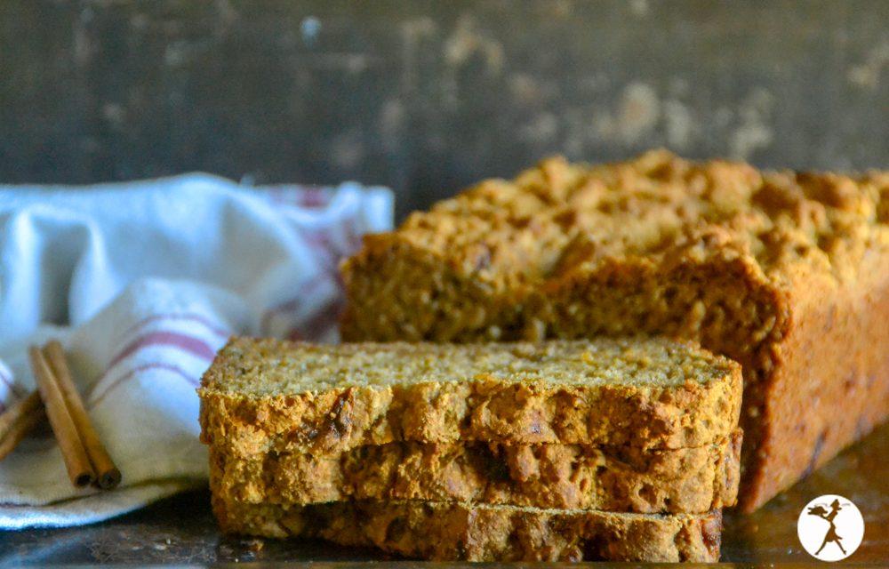 Gluten-Free Cinnamon Yogurt Banana Bread