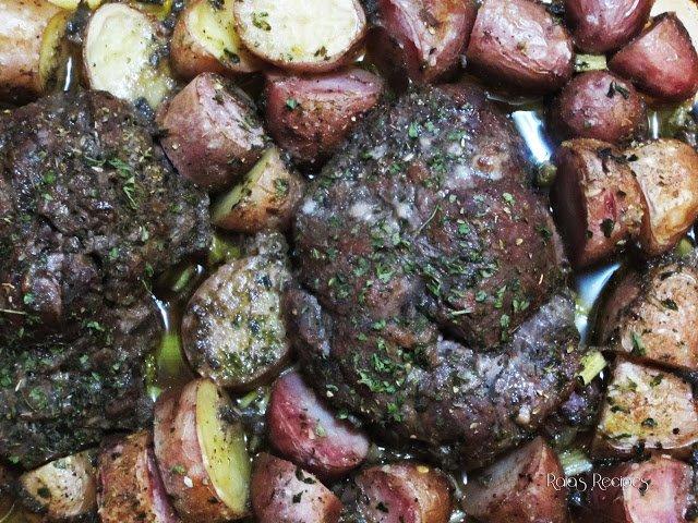 Marinated Roast & Red Potatoes
