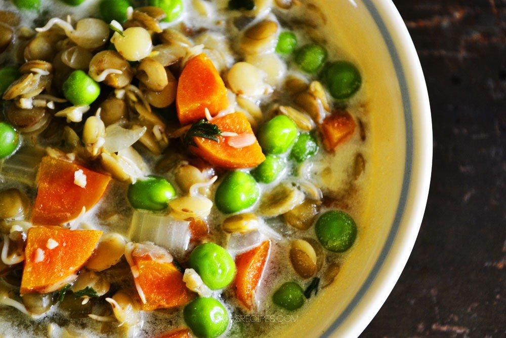 Creamy Squash & Apple Soup