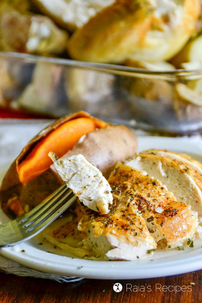 Family Favorite Roast Chicken from Raia's Recipes