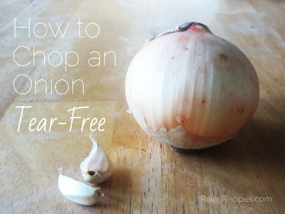 How to Chop an Onion Tear-Free
