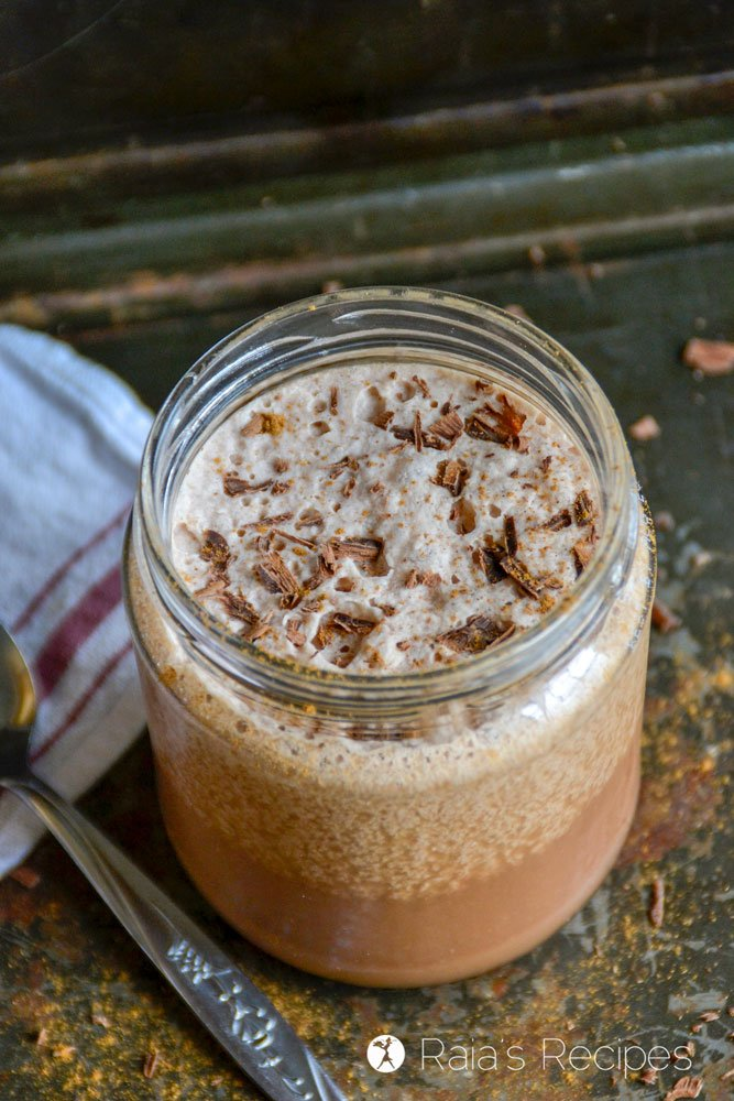 Frozen Hot Chocolate raiasrecipes.com