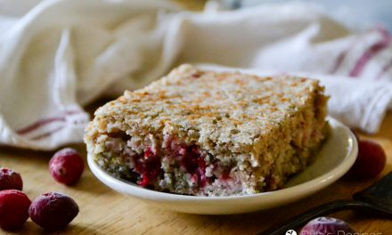 Cinnamon Cranberry Coffee Cake