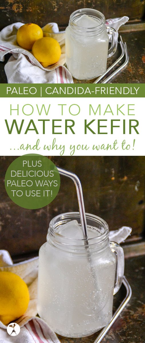 Water kefir is a wonderful way to nourish your gut and build your immune system. Learn how to make basic water kefir, plus over 10 delicious ways to use it! #waterkefir #fermentedfood #traditionalfood #guthealth #probiotic #drinks #howto #glutenfree