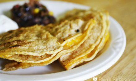 Cheese Triangles :: Kid Favorite Quesadillas