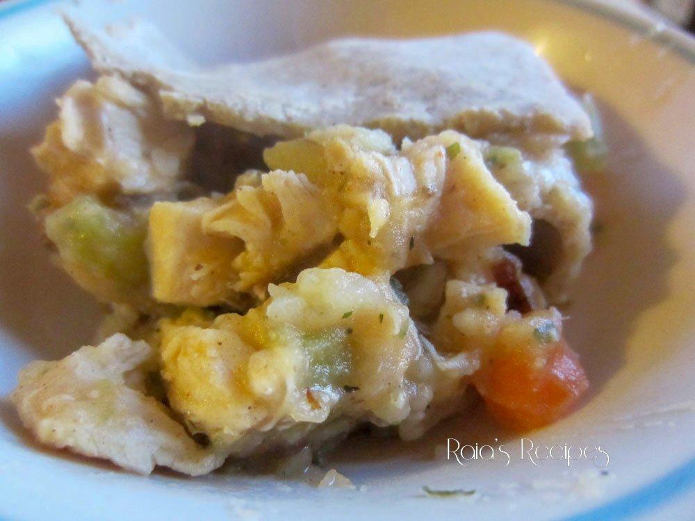 Gluten-Free Chicken Pot Pie raiasrecipes.com