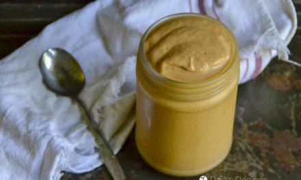 Chocolate Almond Butter Pumpkin Smoothie