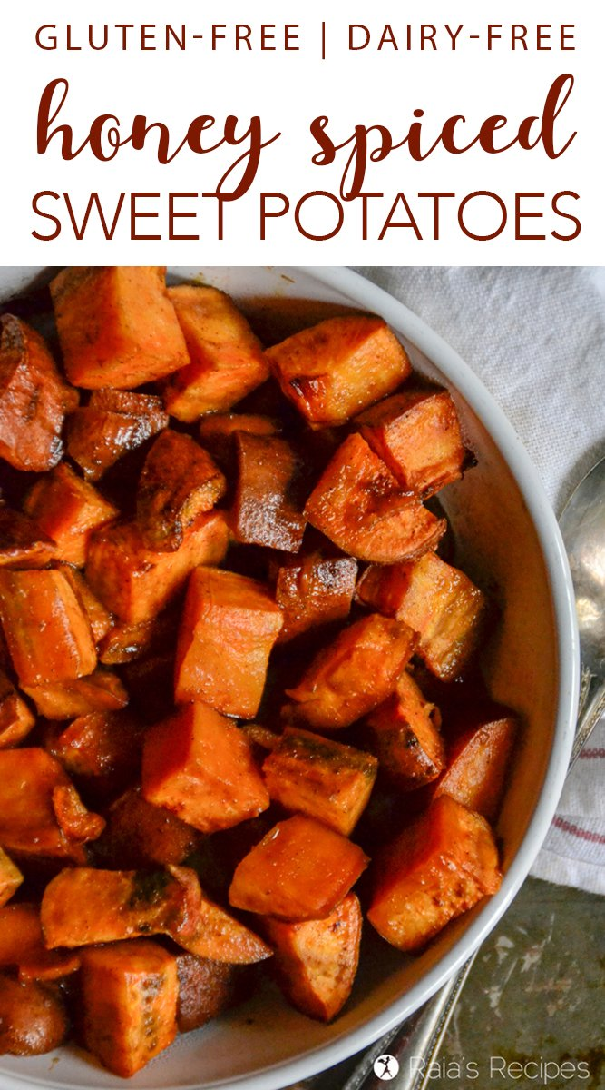 Real-Food, Dairy-Free Honey Spiced Sweet Potatoes