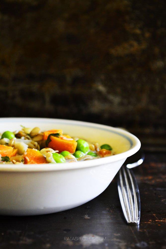 Quick & Easy Veggie Lentil Soup 1