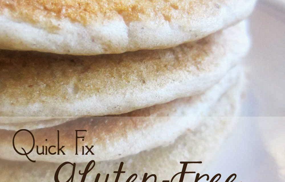 Quick Fix Gluten-Free Sourdough Pancakes
