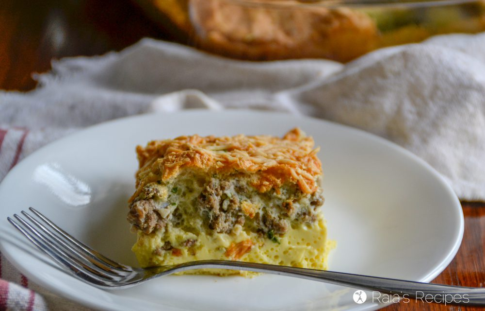Fluffy Crustless Quiche