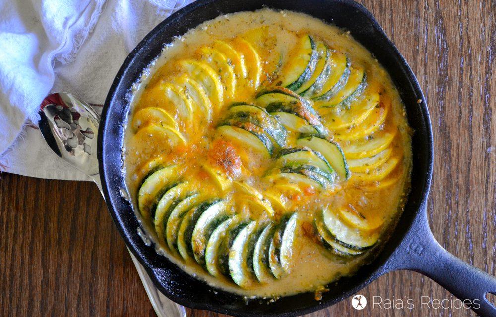 Zucchini & Crookneck Scalloped Squash