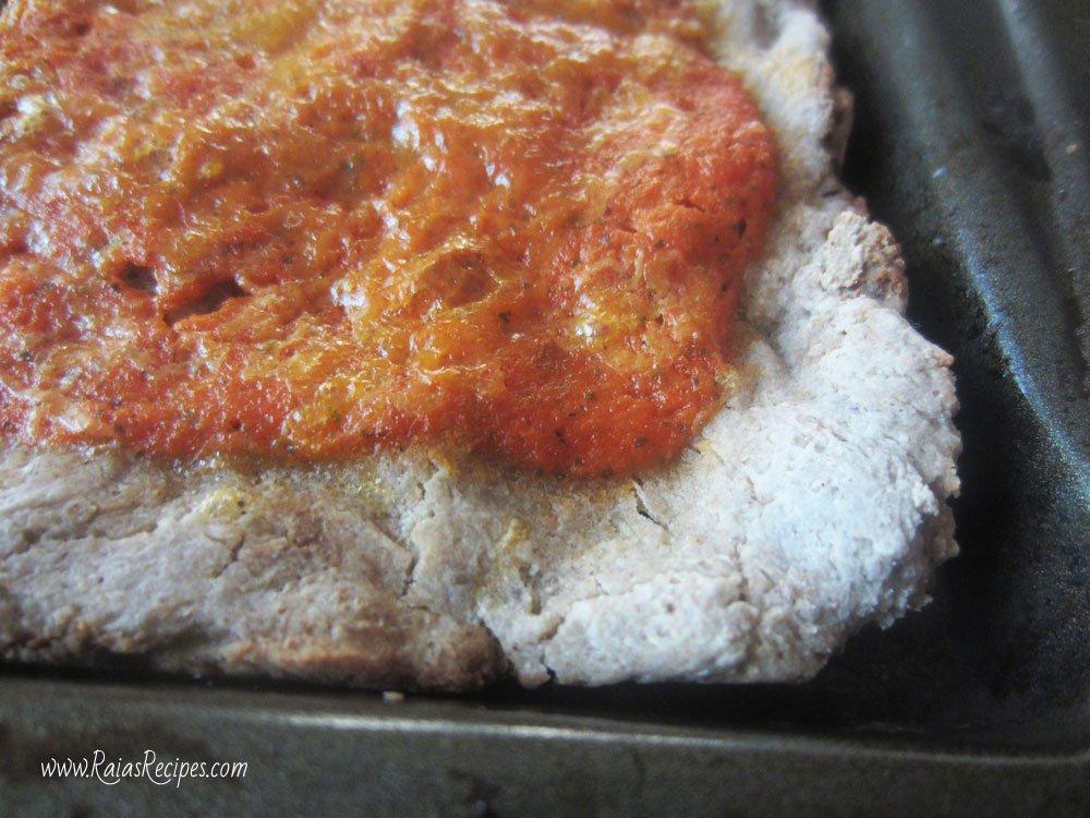 Soaked Gluten Free Pizza Crust | www.RaiasRecipes.com
