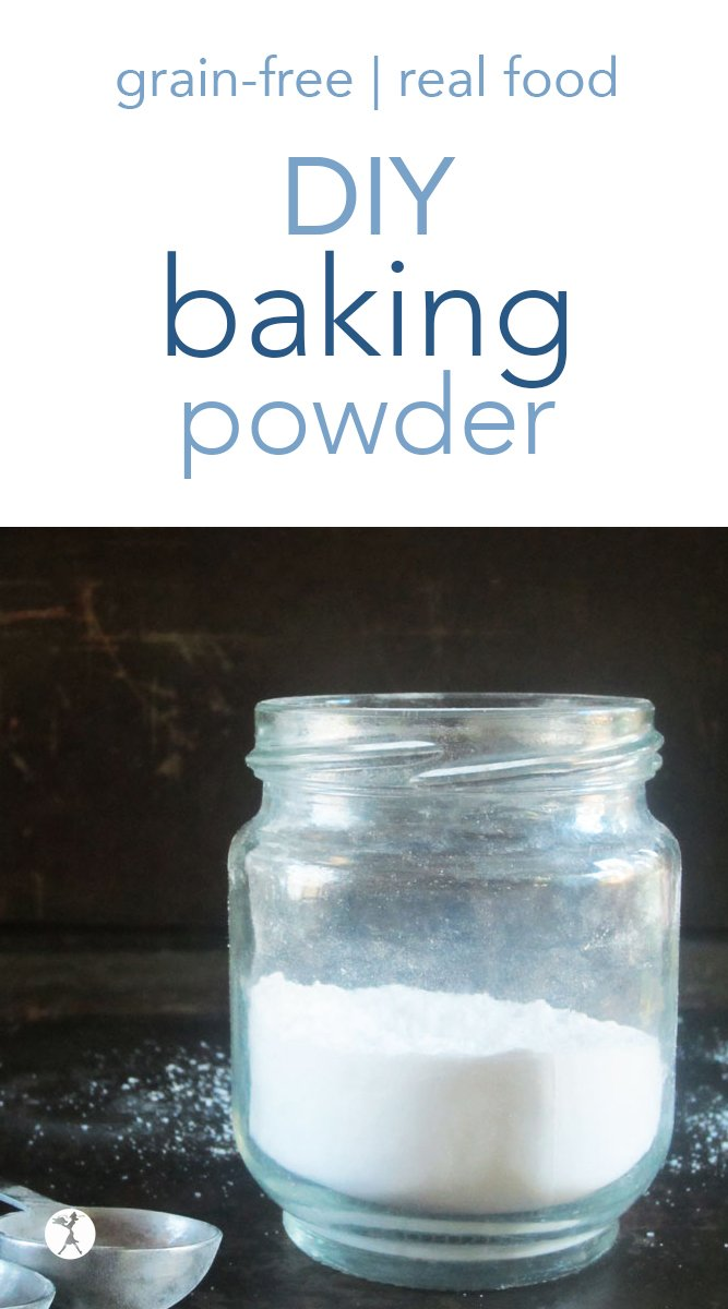 Did you know baking powder is easy to make yourself? Find out how with this easy, DIY baking powder recipe! #diy #homemade #bakingpowder #glutenfree #grainfree #paleo #realfood #cornfree #aluminumfree