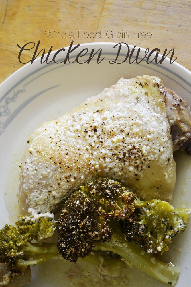 Chicken Divan | grain-free | RaiasRecipes.com
