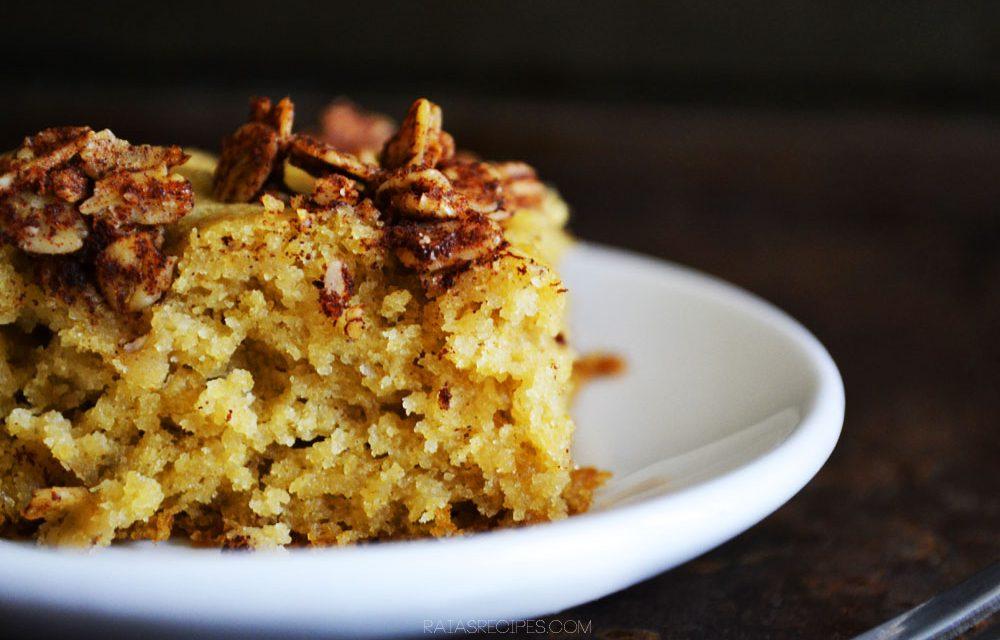 Applesauce Crumb Cake