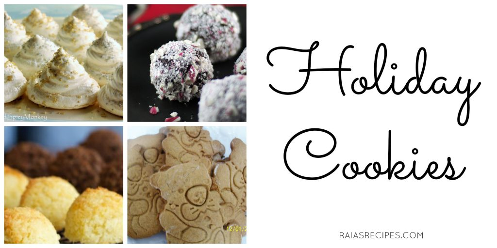 Holiday Cookies | Savoring Saturdays | RaiasRecipes.com