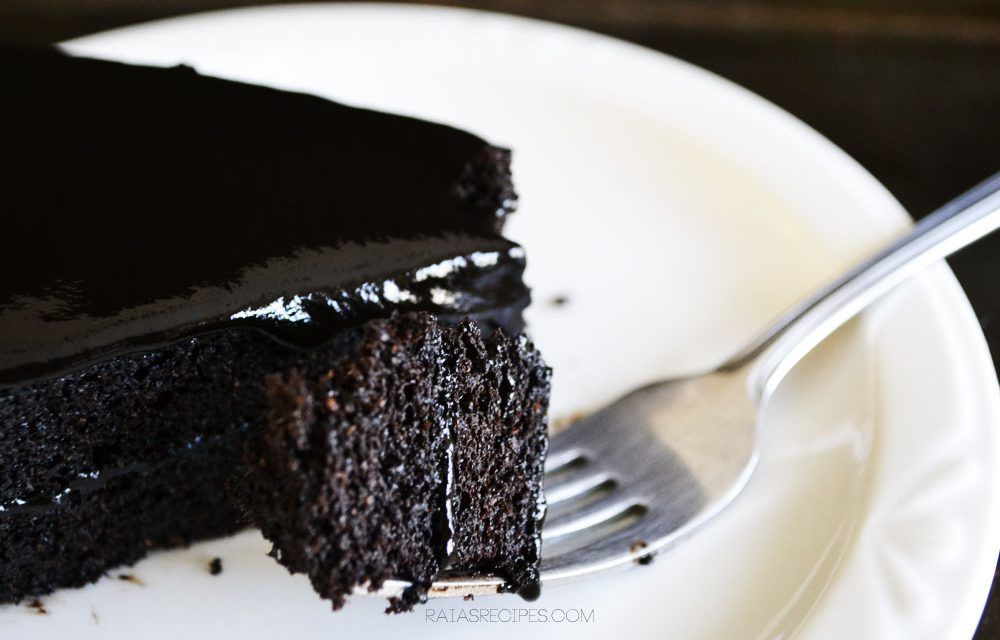 Paleo Spiced Dark Chocolate Cake