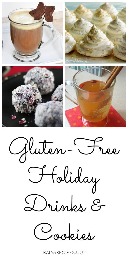 Gluten-Free Holiday Drinks & Cookies | RaiasRecipes.com