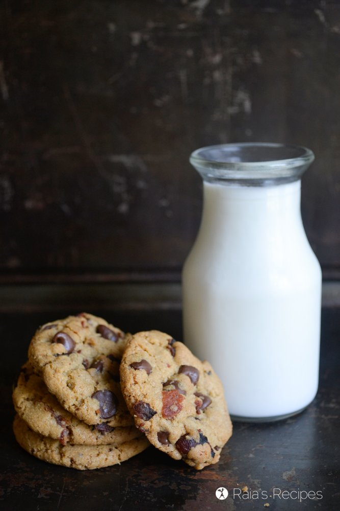 chocolate chip bacon cookies 2