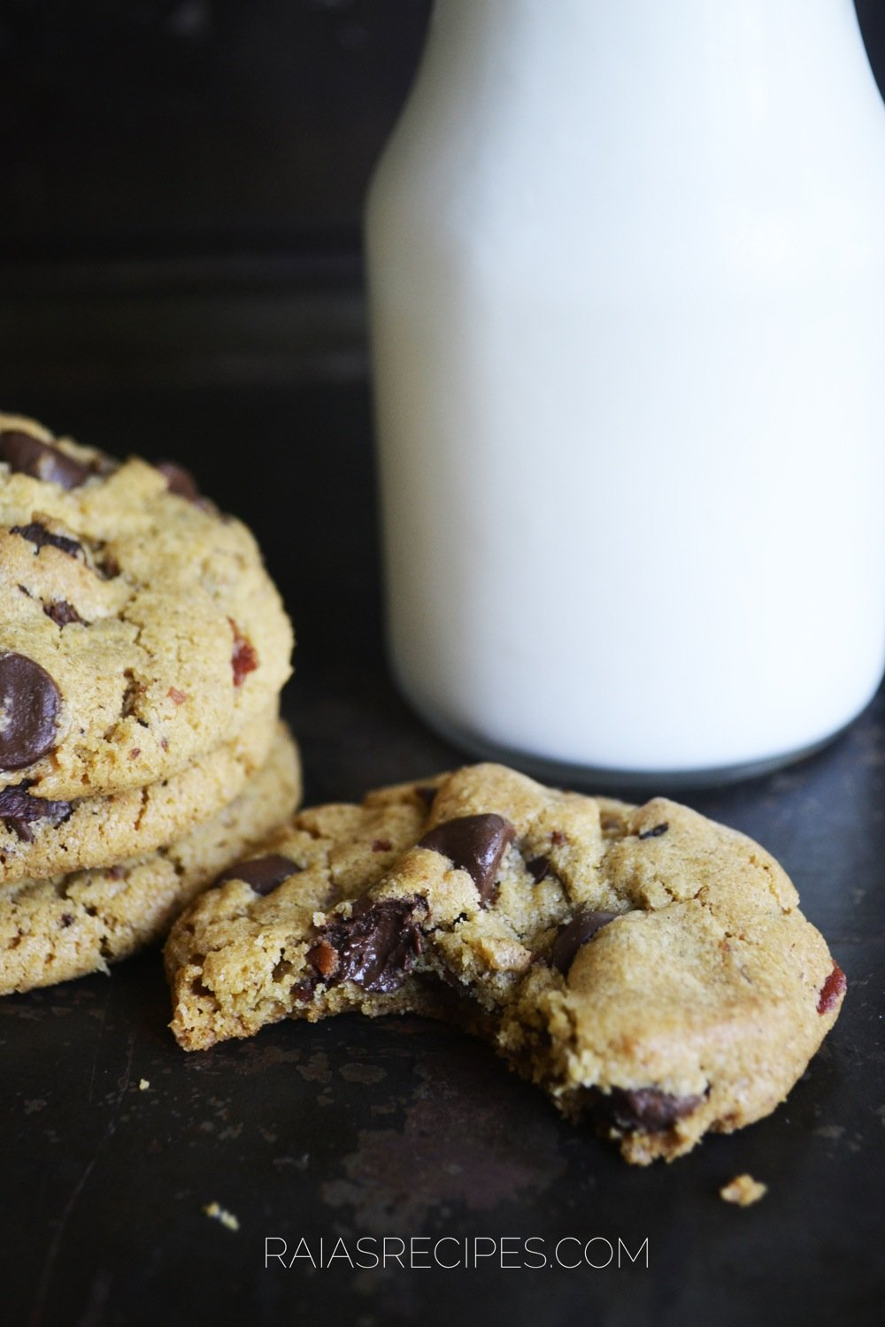 chocolate chip bacon cookies 4