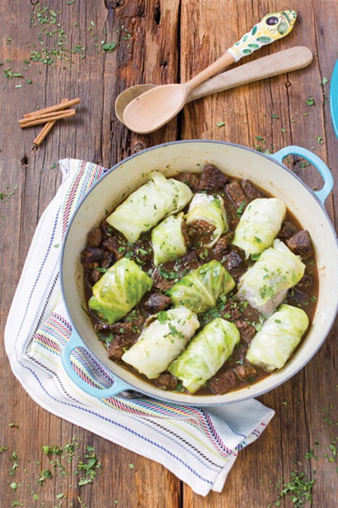 Cabbage Dolmas from Delicious Obsessions