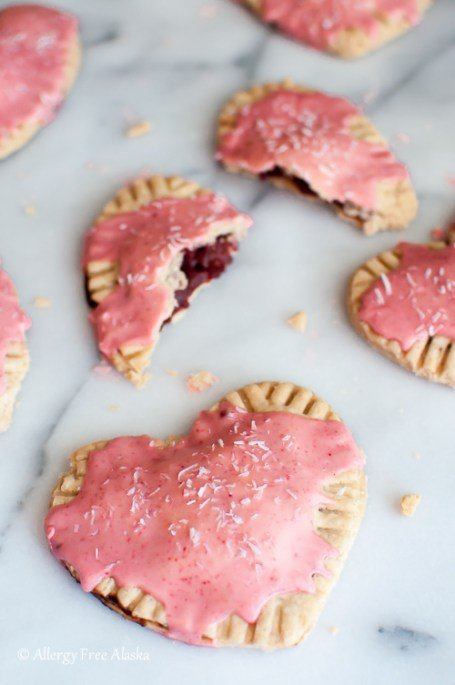 Strawberry Pop Tarts from Allergy Free Alaska