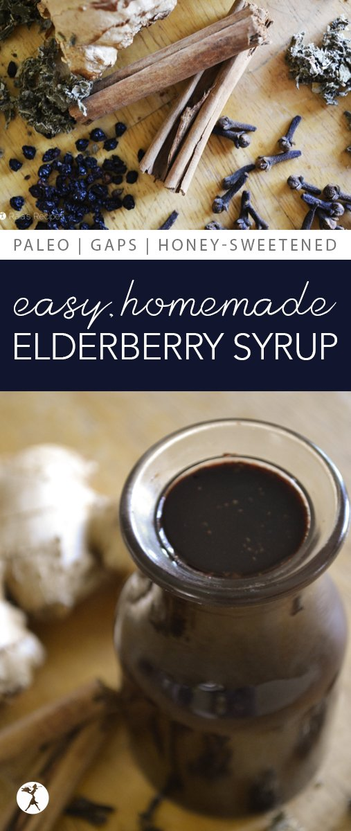Store-bought elderberry syrup can be expensive and contain unnecessary sweeteners and fillers. You can stay away from them and still give your immune system the boost it needs by making your own Homemade Elderberry Syrup!