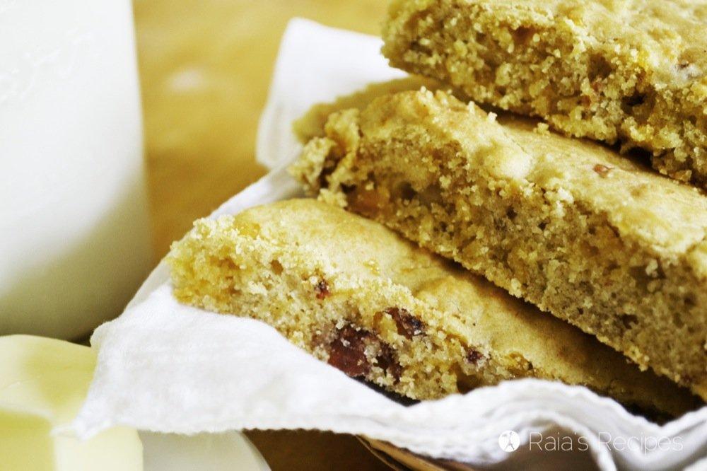Gluten-Free Bacon Cheddar Scones | RaiasRecipes.com