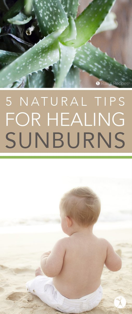 As you are out and about this summer, keep these 5 natural tips for healing sunburns in mind before you reach for the bottle of lidocaine spray after getting burned.